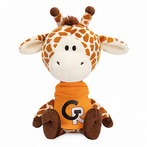 Мягкая игрушка Budi Basa Жирафик Жан в оранжевой футболке, 15 см от Budi Basa