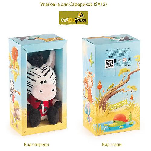 Мягкая игрушка Budi Basa Зебрёнок Зиба в красной футболке, 15 см от Budi Basa