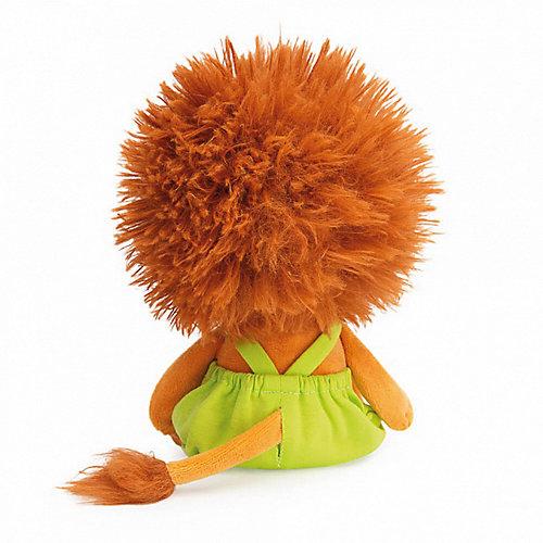 Мягкая игрушка Budi Basa Львёнок Лью в комбинезоне с желтыми пуговицами, 15 см от Budi Basa