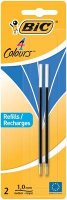 Kugelschreibermine BIC® 4 Colours®, dokumentenecht, 0,4 mm, blau Füller