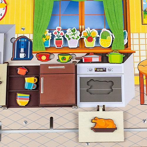 Бизиборд WoodLandToys Кухня от Woodland