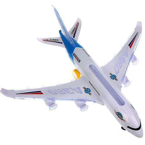 Самолёт Наша Игрушка, свет, звук, 40х46х16 см от Наша Игрушка