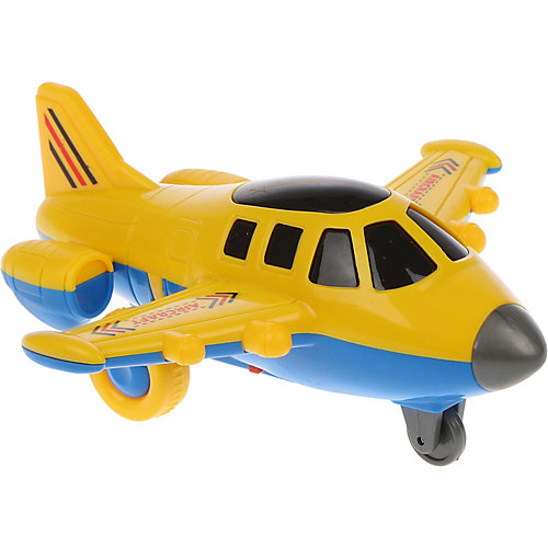 Самолет Наша Игрушка, свет, звук, 16х14х7 см от Наша Игрушка