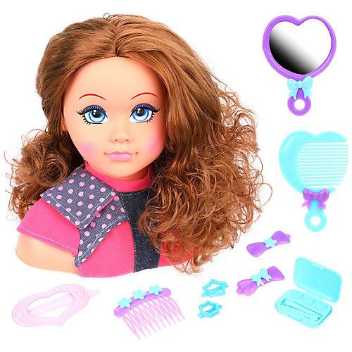"""Манекен для создания причёсок Наша Игрушка """"Стилист"""", 10 предметов от Наша Игрушка"""