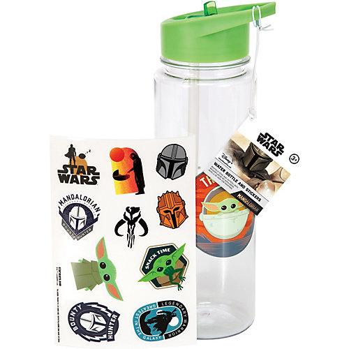 Бутылка для воды Paladone Star Wars Мандалорец Дитя, со стикерами от Paladone