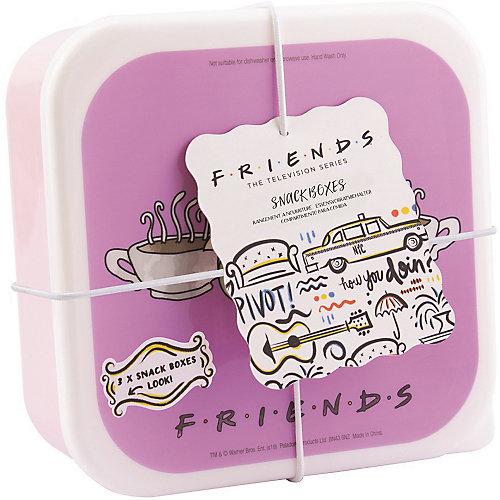 Набор контейнеров для продуктов Paladone Friends, 3 шт от Paladone