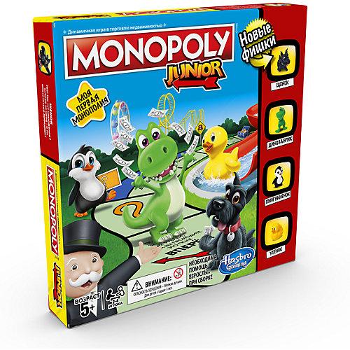 """Настольная игра Hasbro Gaming """"Монополия"""" Джуниор от Hasbro"""
