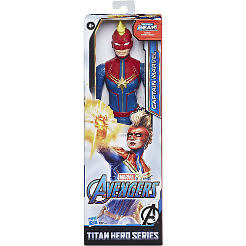 Игровая фигурка Marvel Avengers Titan Hero Капитан Марвел, 30 см от Hasbro