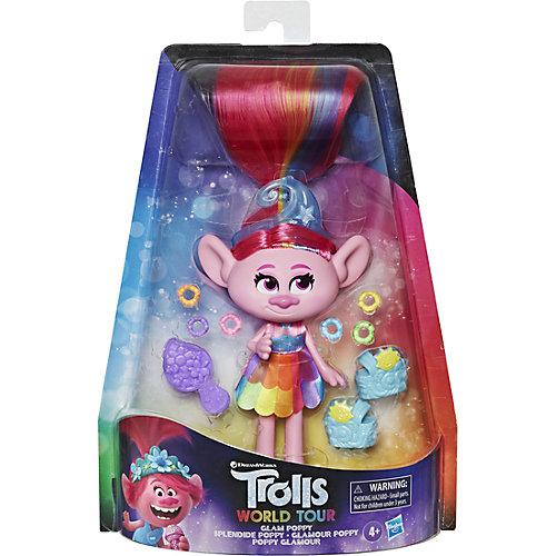 Кукла Trolls World Tour Делюкс Розочка, 15 см от Hasbro