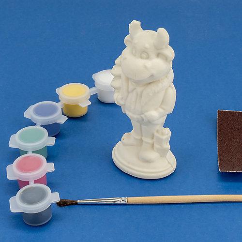 Игрушка-раскраска Lori 3D Art Бычок от LORI