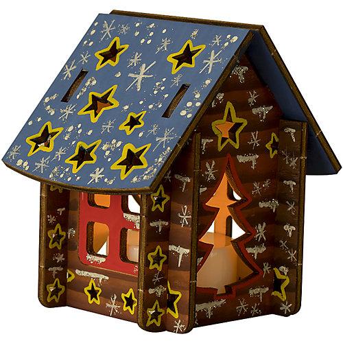 Набор для росписи по дереву Lori Фонарик Волшебный домик от LORI