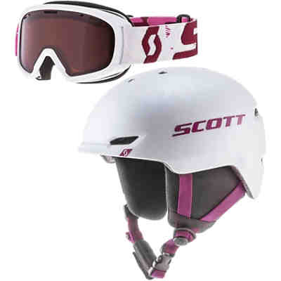 Skihelm Combo Keeper 2+Goggle Jr Witty Skihelme für Kinder