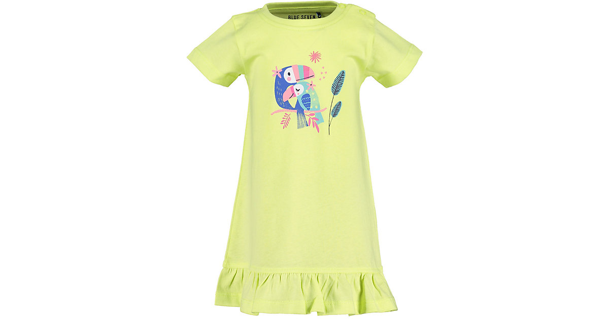 Baby Jerseykleid hellgelb Gr. 74 Mädchen Baby