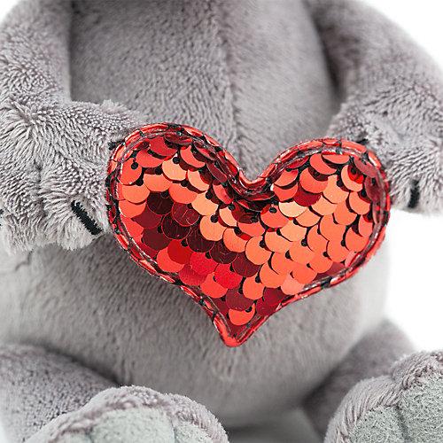 Мягкая игрушка Orange Life Енотик Дэнни: Пламенное сердце, 15 см от Orange