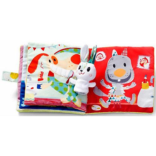 Мягкая книжка-игрушка Lilliputiens Про кролика Селестина, зубного врача от Lilliputiens