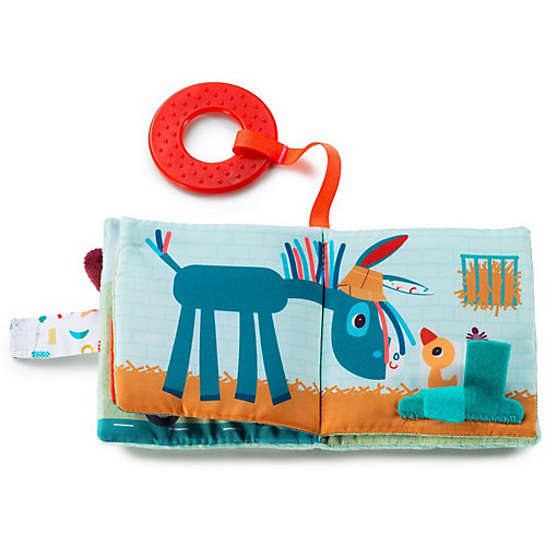 Книжка-игрушка Lilliputiens Ферма от Lilliputiens
