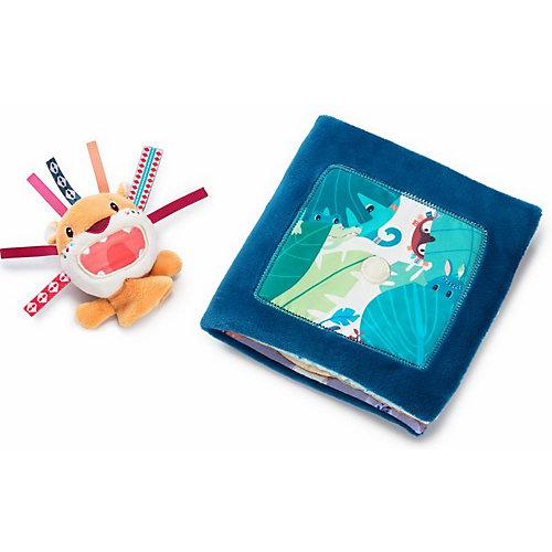 Мягкая книжка-игрушка Lilliputiens Лев Джек рычит от Lilliputiens