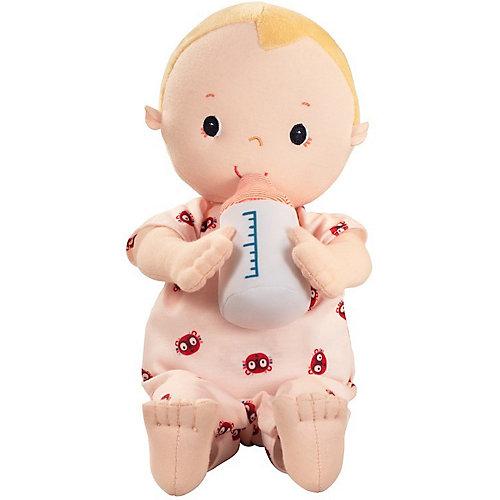 Мягкая кукла Lilliputiens Лу с бутылочкой от Lilliputiens