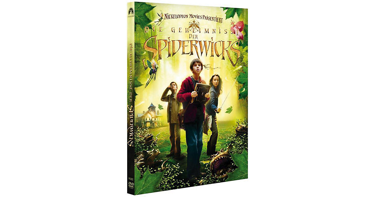 DVD Die Geheimnisse der Spiderwicks Hörbuch
