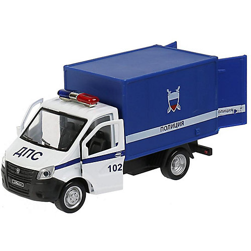 Машинка Технопарк Газель Next Полиция, 14 см от ТЕХНОПАРК
