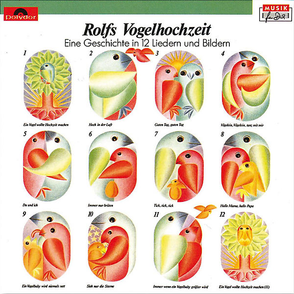 Rolf Zuckowski Weihnachtslieder Texte.Cd Rolf Zuckowski Rolfs Vogelhochzeit Universal