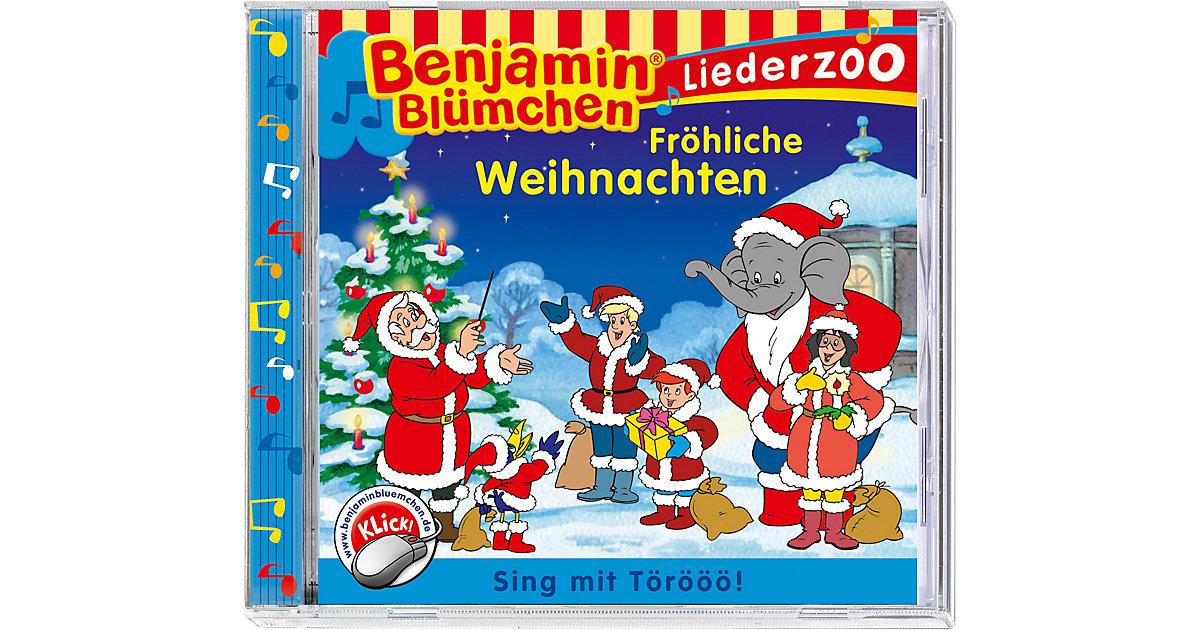CD Benjamin Blümchen Liederzoo Fröhliche Weihna...