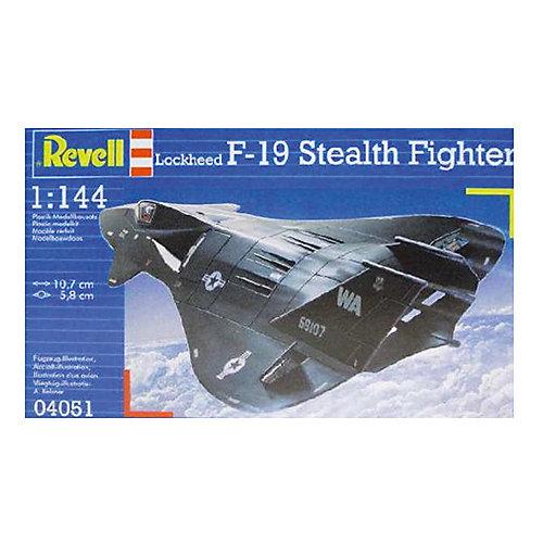 Истребитель F-19 Stealth, 1:144, (3) от Revell