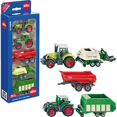 SIKU 6286 Подарочный набор сельскохозяйственной техники от SIKU
