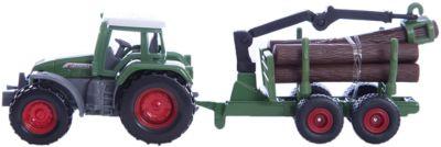 Siku 1645 tractor con forstanhänger