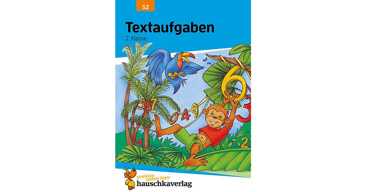 Hauschka Verlag · Rechnen, Textaufgaben die 2. Grundschulklasse Kinder