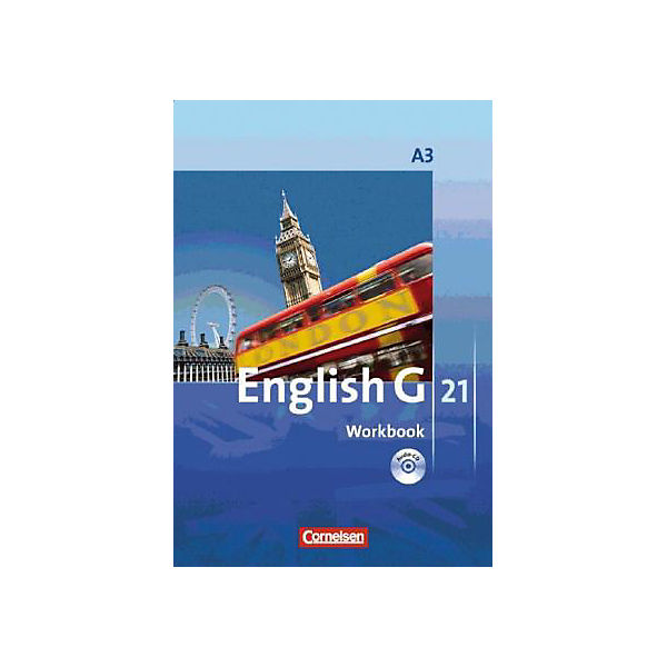 English G 21, Ausgabe A: 7. Schuljahr, Workbook m. Audio-CD