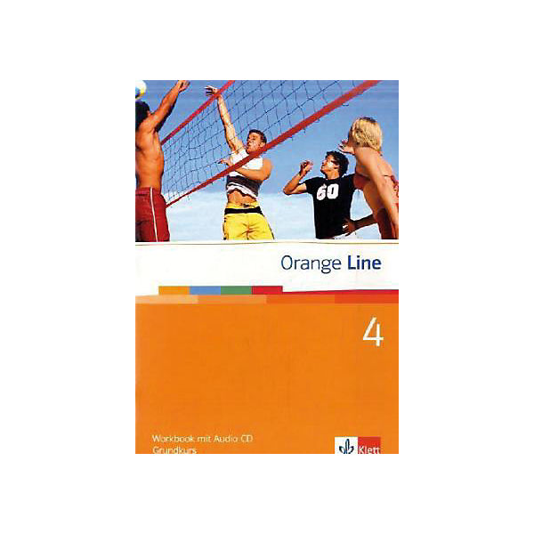 Orange Line: Klasse 8, Workbook m. Audio-CD, Grundkurs