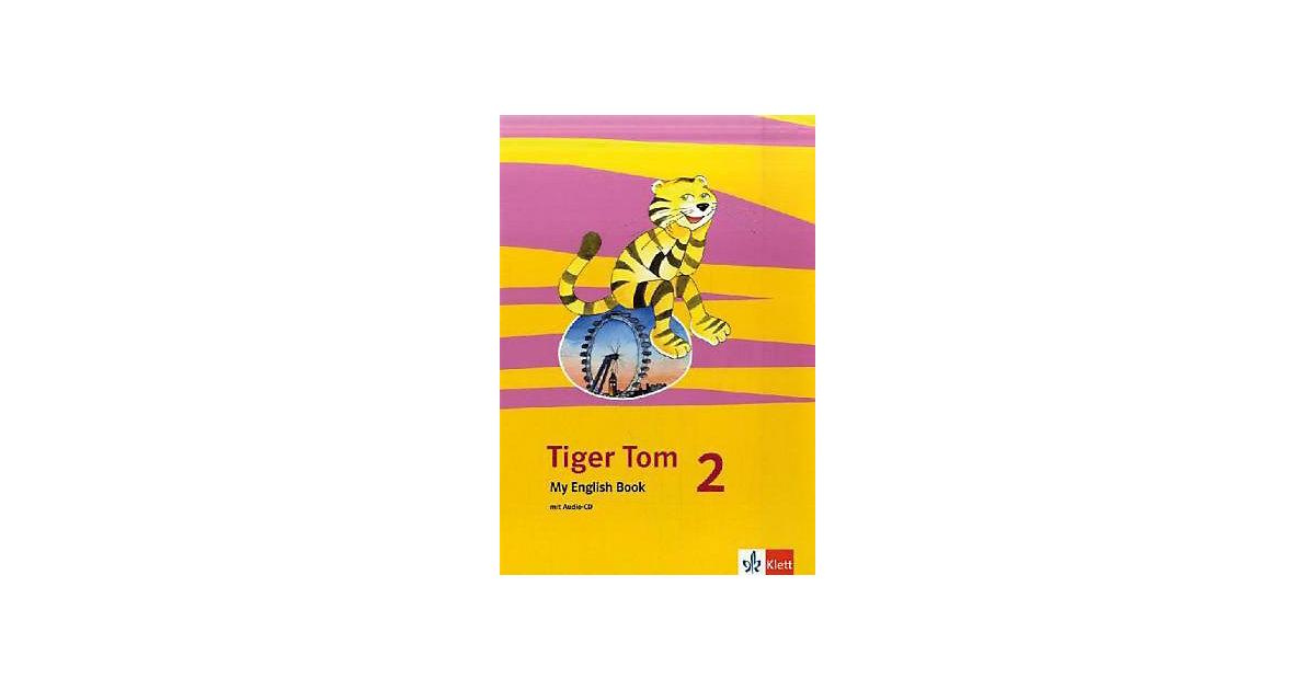 Tiger Tom: 2. Schuljahr, My English Book m. Aud...