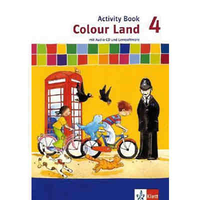 Colour Land, Neuausgabe: 4. Schuljahr, Activity Book m. Audio-CD u. CD-ROM