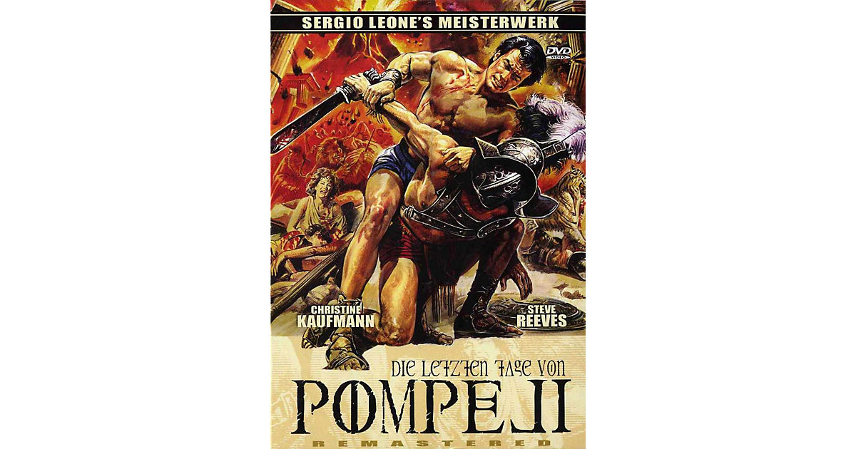 DVD Die letzten Tage von Pompeji