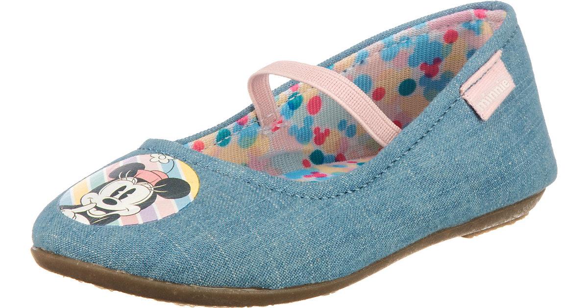Disney Minnie Mouse Kinder Ballerinas hellblau Gr. 25 Mädchen Kleinkinder
