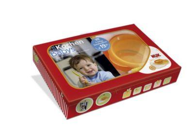 Buch - Kochen Babys, m. NUK-Esslern-Schale u. 2 Lätzchen  Kinder