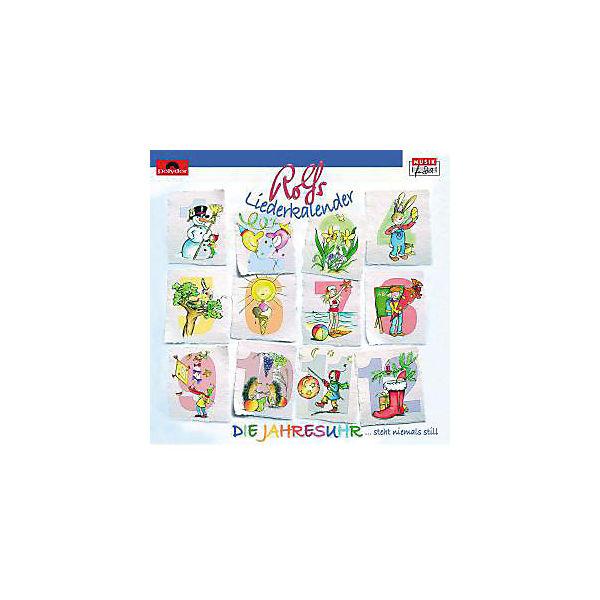 Rolf Zuckowski Weihnachtslieder Texte.Cd Rolf Zuckowski Rolfs Jahresuhr Ein Klingender Liederkalender Universal