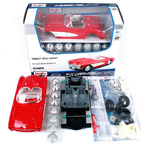 Машинка-конструктор Maisto 1957 Chevrolet Corvette, 1:24 от Maisto