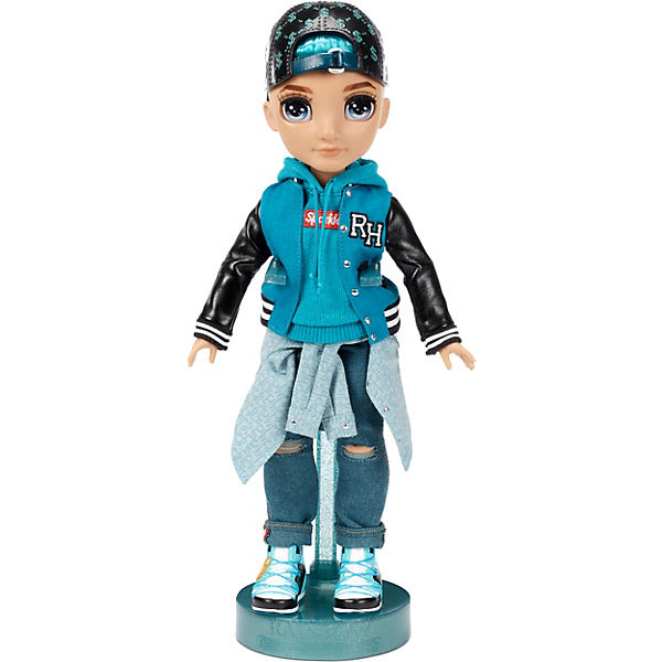 Rainbow High Fashion Doll - River Kendall (Teal Boy)