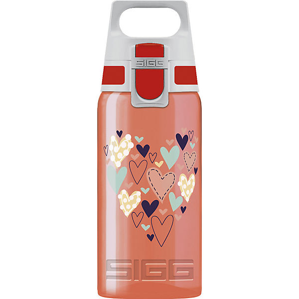 Trinkflasche VIVA ONE Big Hearts, 500 ml