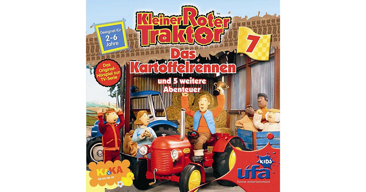 CD Kleiner Roter Traktor 07 Das Kartoffelrennen Hörbuch