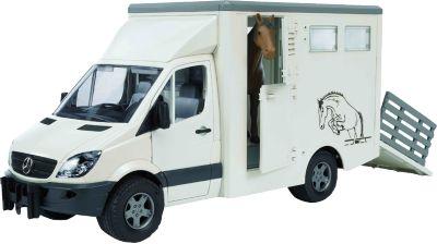 Spielzeugautos bruder 02028 Pferdeanhänger