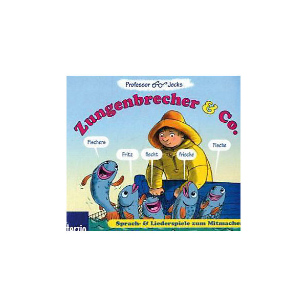 Professor Jecks Zungenbrecher & Co., 1 Audio-CD