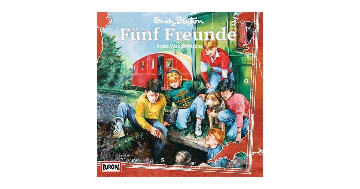 CD 5 Freunde 01 - Fünf Freunde beim Wanderzirkus Hörbuch