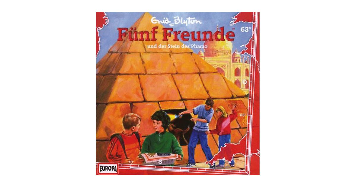 CD Fünf Freunde- 063 - und der Stein des Pharao