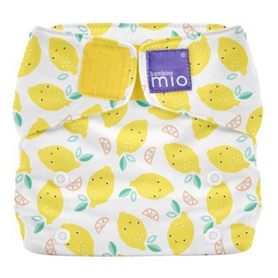 Stoffwindel Miosolo All-in-One - Zarte Zitrone gelb