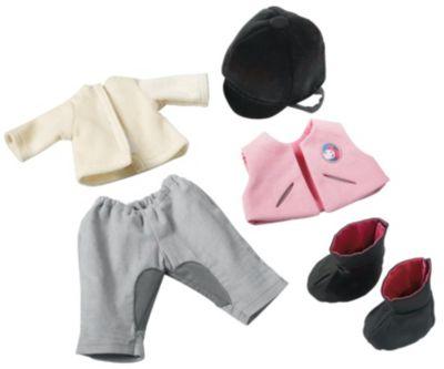 HABA 3762 Puppen-Kleiderset Reiten, 38 cm