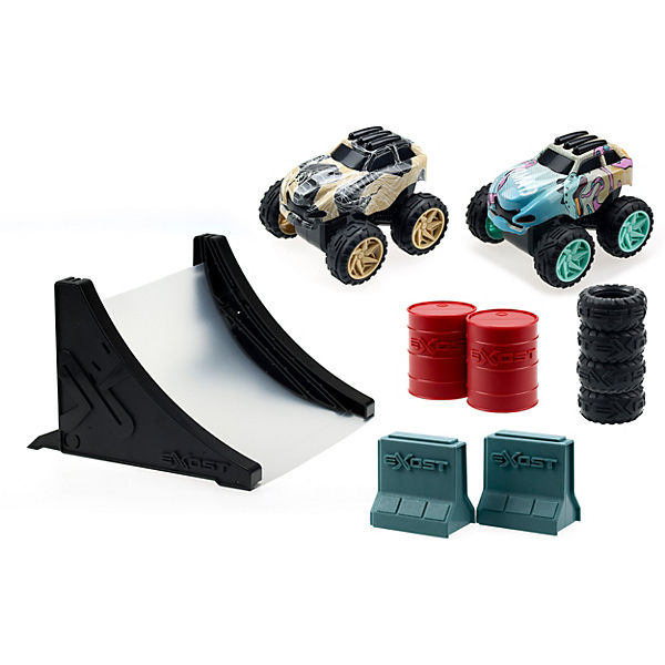 Shox Mega Stunt Pack Friction Car Deluxe Spielset - SUV 1