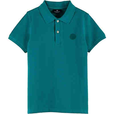 Poloshirt FABRIC DYED TONAL CHEST ARTWORK für Jungen
